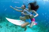 Mick Gleissner - Underwater Surfing