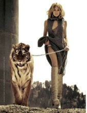 Mamun Hasan - Lady with a Tiger