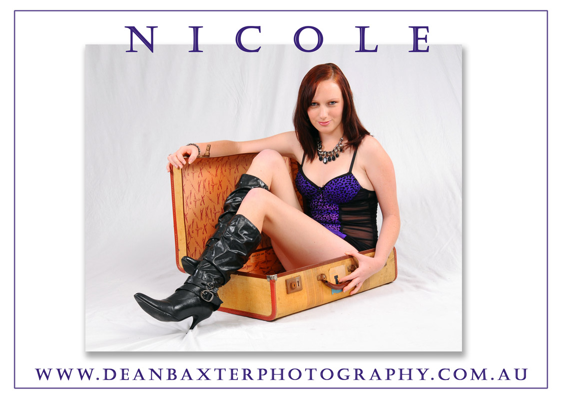 Dean Baxter Photography - Nicole in case