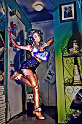 Y? Creations  - Merrisa as Galaxia Mugler in Guettho Fav