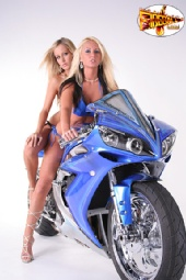 FIREBALL MODELS - JESSICA BARTON AND CHRISTY WEST