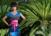 Kseniia Kadobnovak - Tropical lady