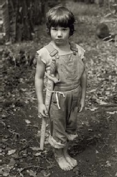 John Wehrheim - Gary with his sword, Taylor Camp