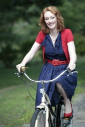 Peter Le Grand - Christiana on a bike