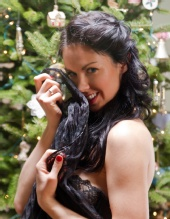 Melissa Mazza - Christmas Pinup 