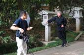 Jack Long - American Ninja (behind the shoot)