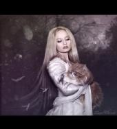 Johanna Glam - Lady in White (Samhain Night)