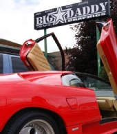 Big Daddy Photographic - The Red Lamborghini Diablo
