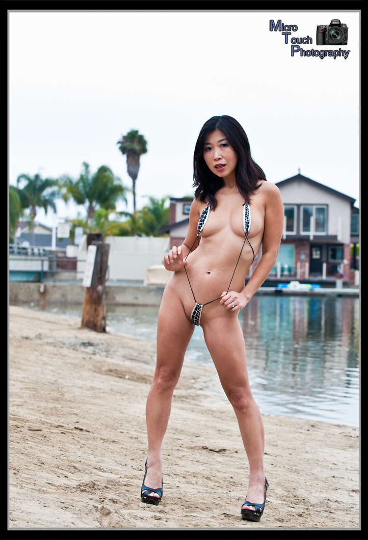 Natalie Cheng - Hanging out on the Beach - Labor Day