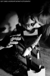 eat cake & worship satan photography - THE HONEY TRAP