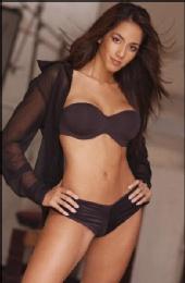 Angelina Marie - black lingerie