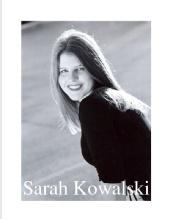 Sarah Kowalski - Sarah