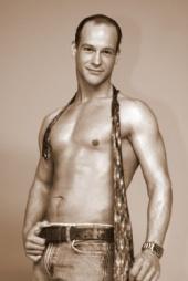 Jason Sarrazin - B & W Muscle Tie