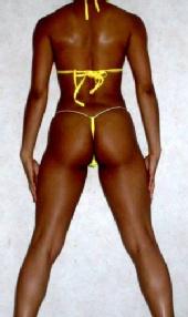 Estelle - Screaming Yellow Bikini #2