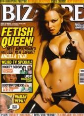 Ancilla Tilia - Bizarre magazine cover