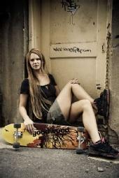 Charmaine - Back Alley Skater