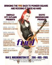 go-go Amy - Fuel night club ad