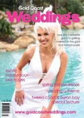 Alisha Illich - Gold Coast Weddings Magazine - Spring 2009 Issue