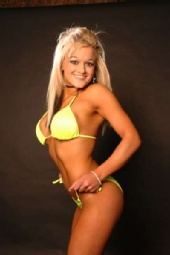 Vegas Vaughan - yellow bikini