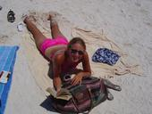 Sarah Chmielewski - me at the beach
