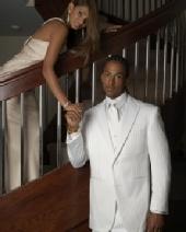 Sheryl K. - FUBU tuxedo ad
