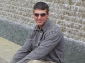 Josh - by the waterfall