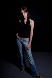 Afton Montgomery - jeans, simple