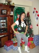 Delsie - christmas shot