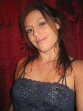 Ashley Moniz - Ashley-Blue Dress