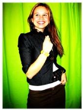 Joana Akelyte - Fashion with green wall