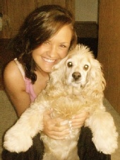 ashley - Me and my dog!