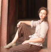 Natalie - Agra Fort, India
