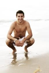 Goose - Ryan on the beach
