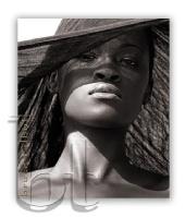 ELIZABETH - black wrap