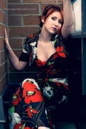 Melantha Lea - Brick Red
