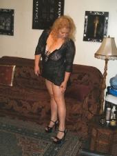 Sarah - Black Lace & 5 inch Heels