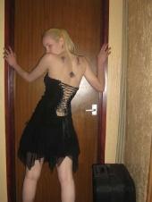 angel - black dress