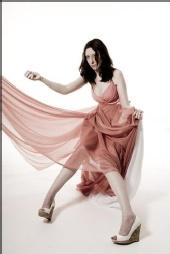 Sarah Crone - Pink dress