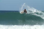 Miles - surfing