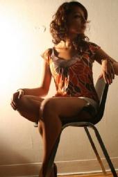 Elle Marquez - Posing for Matthew Leifheit