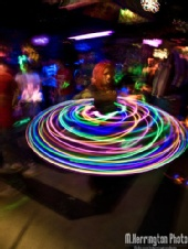 dee_t0xik - Hoop dancing @ Peep This (rave in Buffalo, NY)
