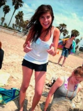CATlyn! - Me at the beach:)
