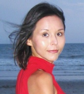 Lana - on the beach