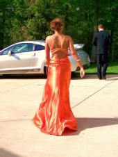 Kristine - Candid from my Junior Prom!