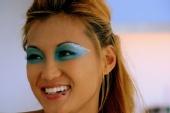 suzirockstar - blu shimmer