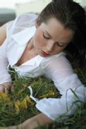 Jamie Campbell - grass