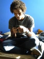 LC AIDS - caught off gaurd, texting