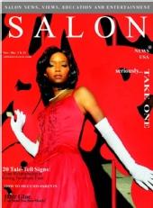Celestine McGee - Salon USA Cover Credits for Hair& Makeup