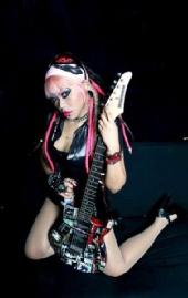 Satanycandle - guitar girl