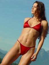 Jaime - red bikini